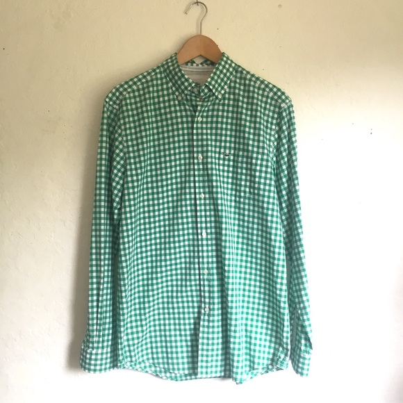 Lacoste Other - Lacoste Devanlay Classic Fit Green Checked…